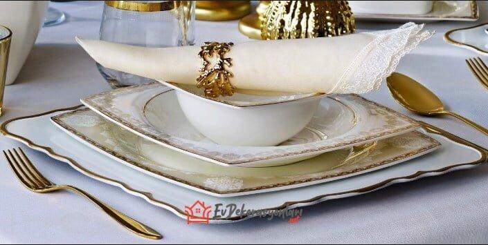pierre cardin diana porselen yemek takimi modeli