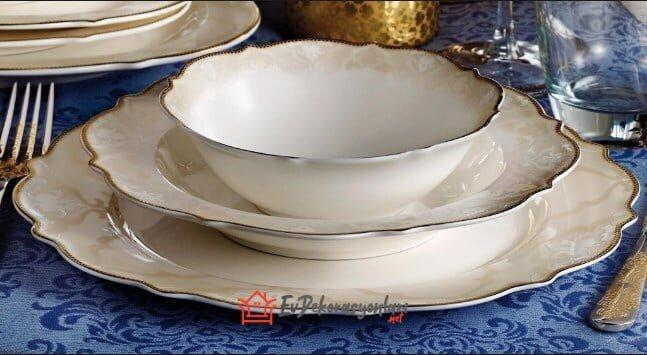 pierre cardin grace porselen yemek takimi modeli
