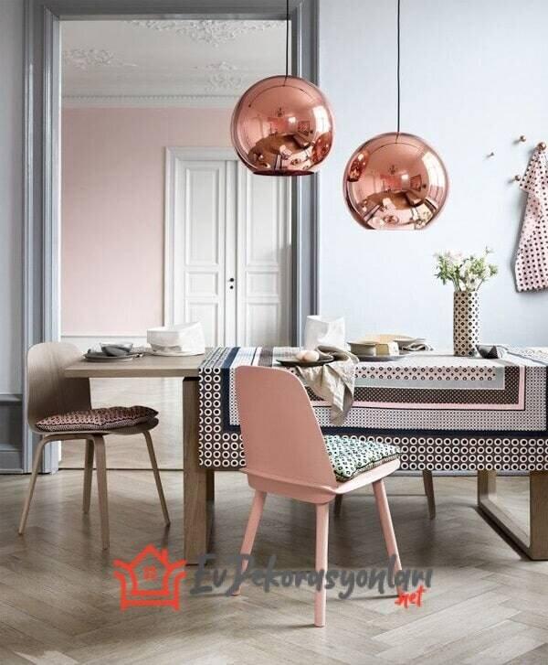 pudra ev dekorasyon fikirleri 2019