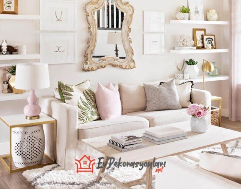 pudra rengi dekorasyon fikirleri 2019