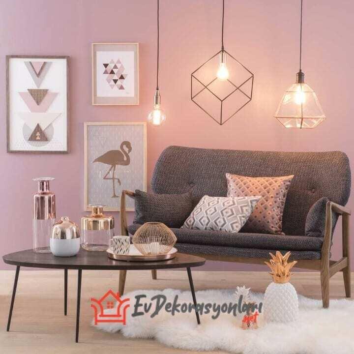 pudra salon dekorasyon modeli 2019