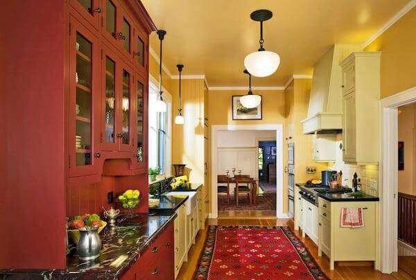 renkli-amerikan-mutfak-modelleri