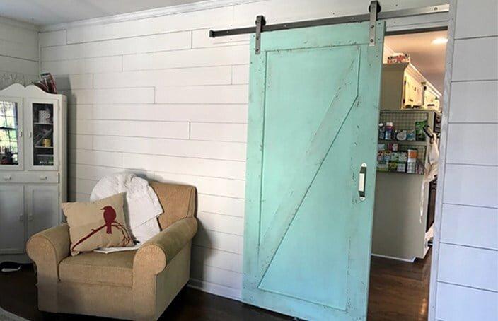 renkli dekoratif durgulu kapi modeli