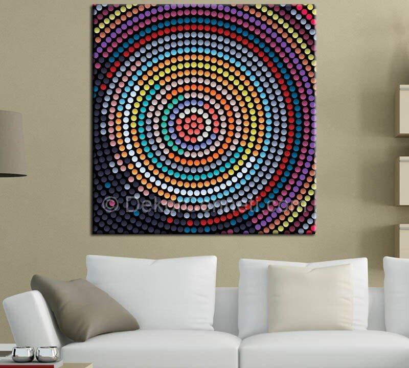 renkli-noktalar-dekoratif-canvas-tablo