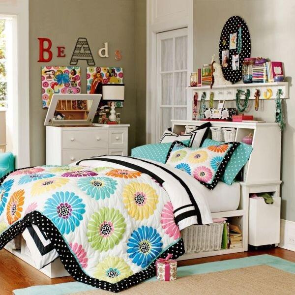 renkli patchwork yatak ortusu modeli