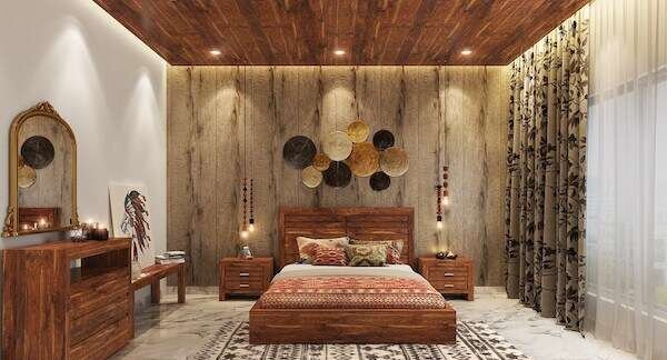 rustik-yatak-odasinda-renk-uyumu-nasil-olmali
