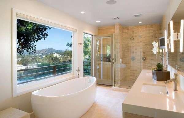 sade-cakil-tasi-rengi-banyo-dekorasyonlari