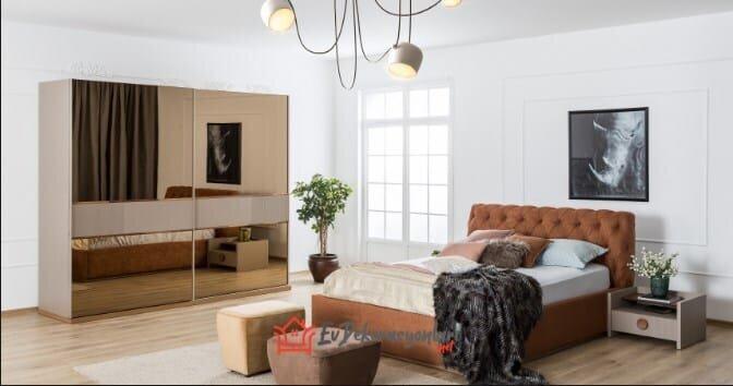 saloni mobilya mocha yatak odasi takimi modeli