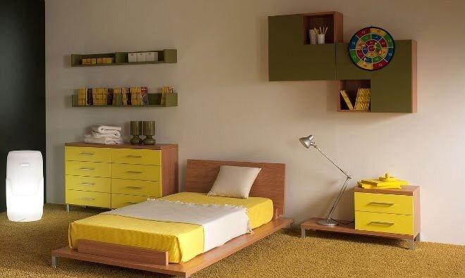 sarı çocuk odaları