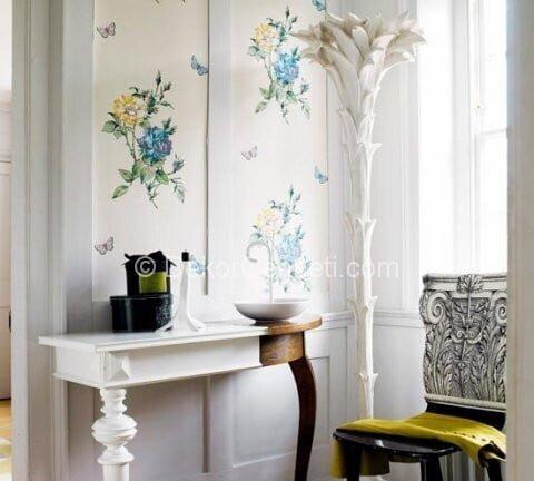 Şık antre için dekorasyon örnekleri Fotoğrafları