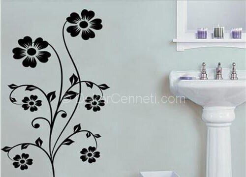Şık banyo sticker Resimleri