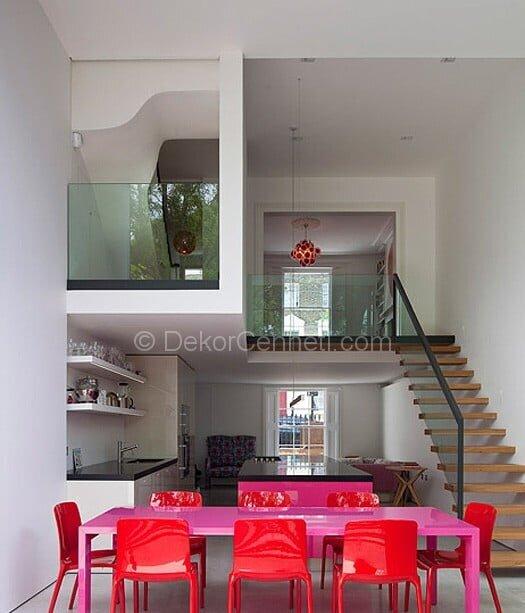 Şık bar masalı mutfak Galerisi