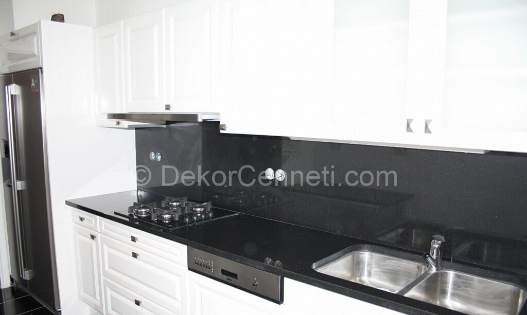 Şık granit mutfak tezgahı nasıl yapılır Modelleri