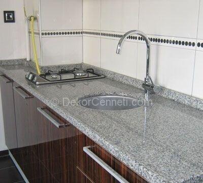 Şık ikinci el granit mutfak tezgahı Galerisi