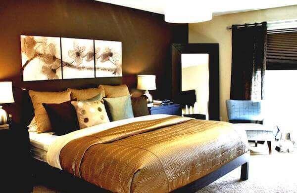 sik-kahverengi-yatak-odasi-dekorasyonu