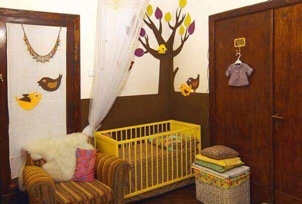 sik-modern-bebek-odasi-dekorasyonu