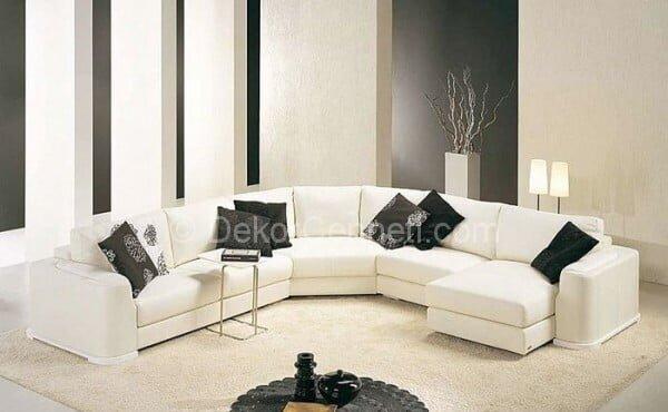 Şık modern yataklı koltuk Görselleri