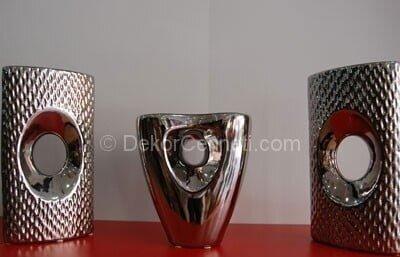 Şık siyah seramik vazo Fotoğrafları