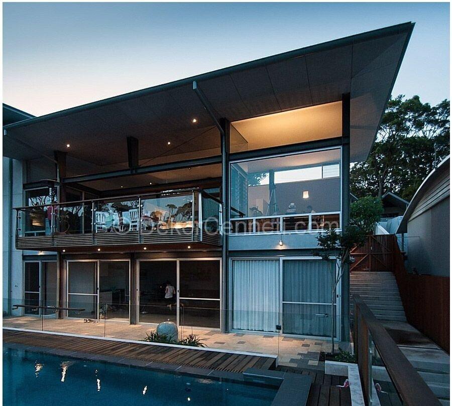 Şık villa mimari projeleri Görselleri