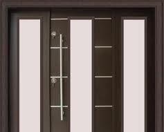 siyah beyaz çelik kapılar