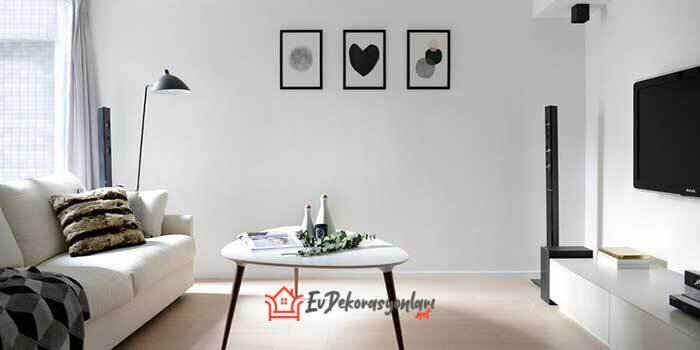 siyah beyaz dekorasyon onerileri