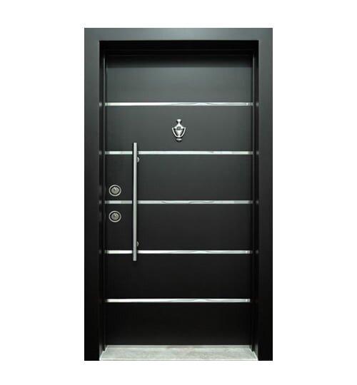siyah çelik kapı modelleri