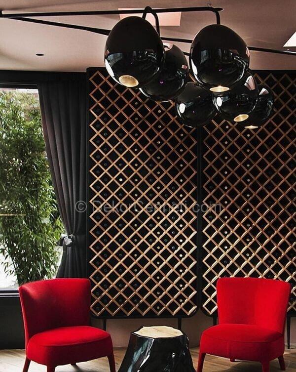 siyah restoran dekorasyonu2