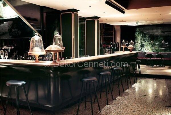siyah restoran dekorasyonu3