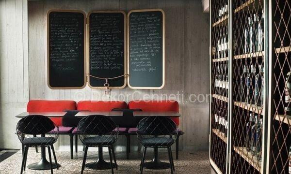 siyah restoran dekorasyonu4