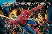 spider man ışıklı tablo