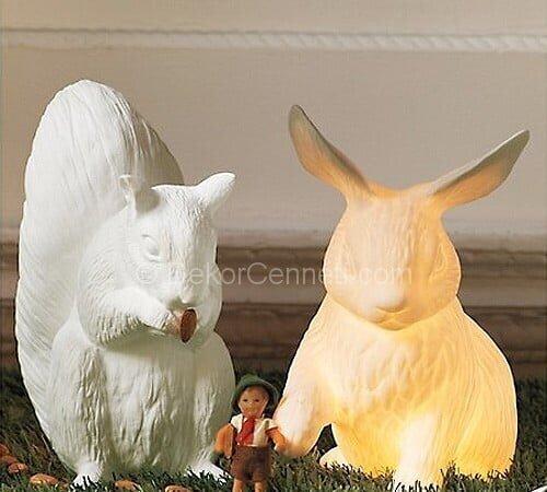 tavşan gece lambası
