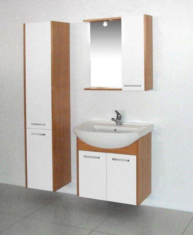 tekzen modern banyo dolap modelleri 2019