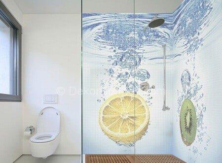 Trend 3 boyutlu banyo sticker Galerisi