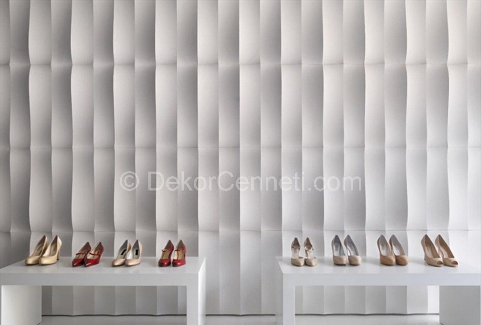 Trend evim şahanedeki dekoratif duvar panelleri Galeri