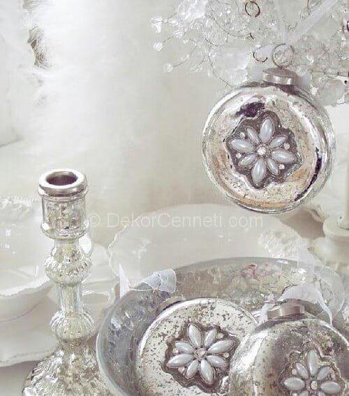 Trend gümüş ev aksesuarları Galeri