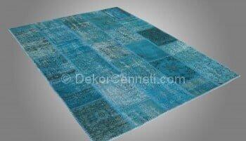 Trend hali patchwork rug Galeri