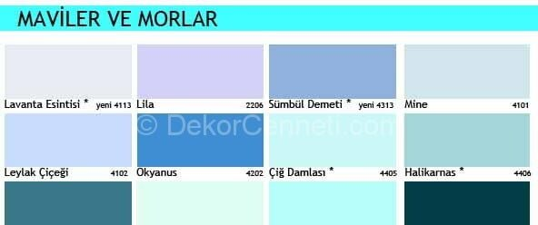 Trend marshall 1001 renk Resimleri