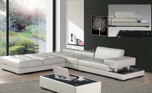 Trend modern yataklı koltuk takımları Resimleri