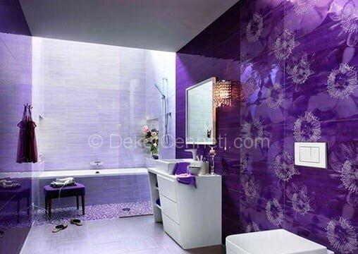 Trend mor banyo dolabı Galeri