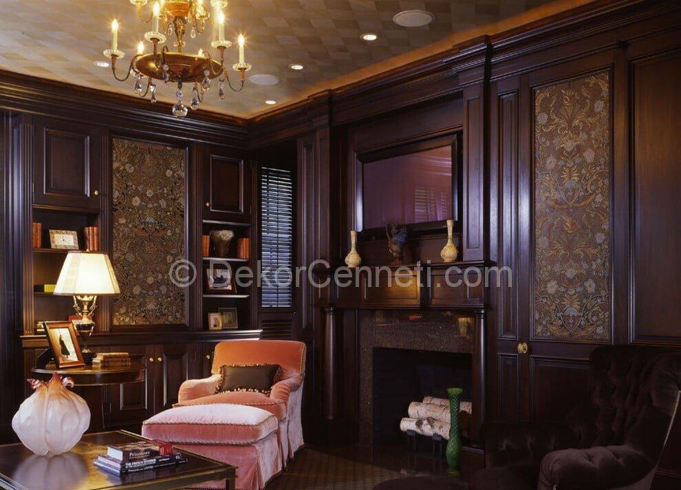 Trend oturma odası dekorasyonu Resimleri