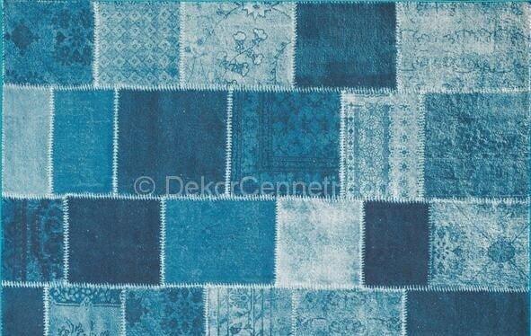 Trend patchwork halı kullanışlı mı Resimleri