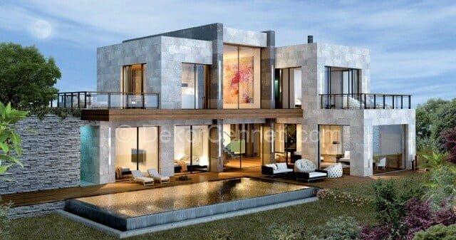 Trend villa mimari planlar Fotoğrafları