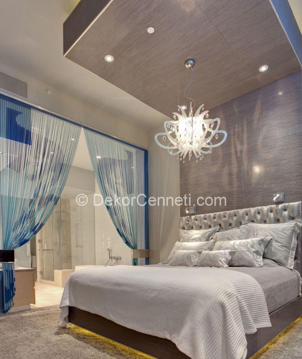 Trend yatak odası asma tavan Resimleri