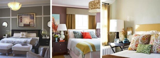 Trend yatak odası renk kombinleri Fotoğrafları