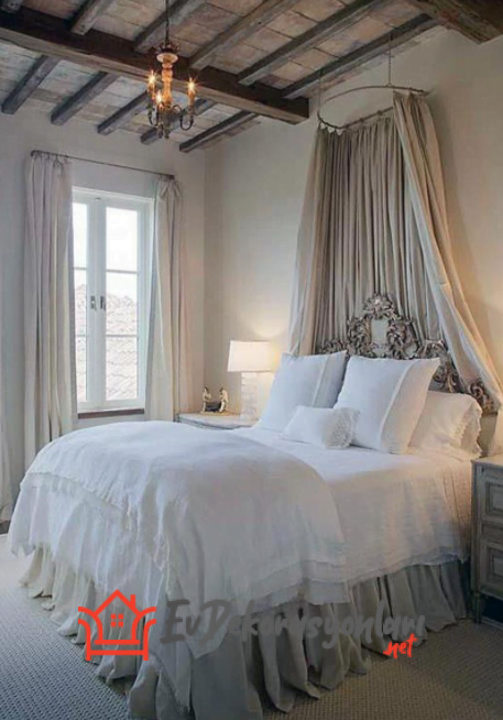 Tüllü Yatak Odası Dekorasyonu Nasıl Olmalıdır?