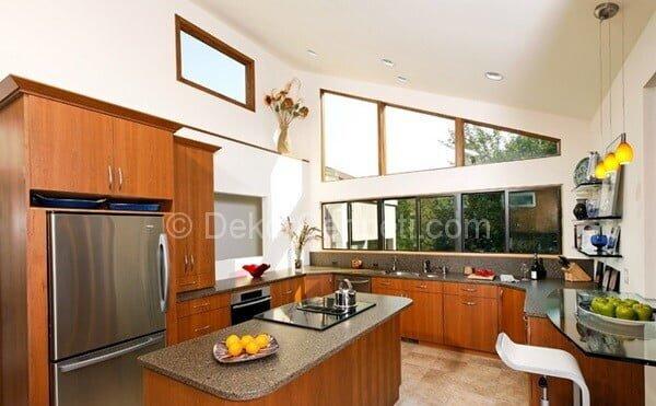 u şeklinde mutfaklar ada mutfak