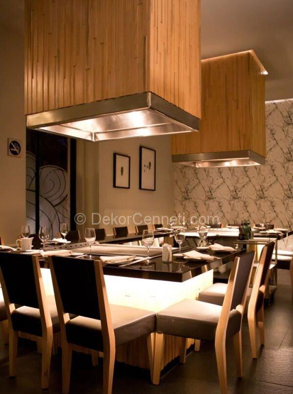 ultra lüks restoran dekorasyonu2