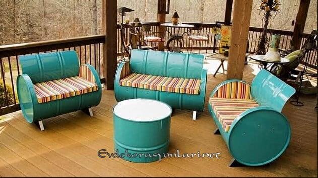 varilden dekoratif bahce mobilyalari