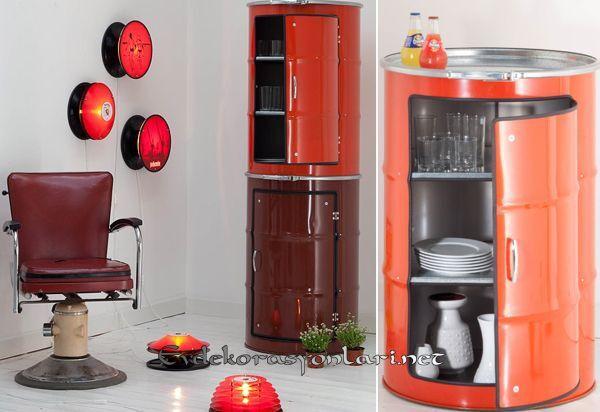 varilden dekoratif mutfak dolabi