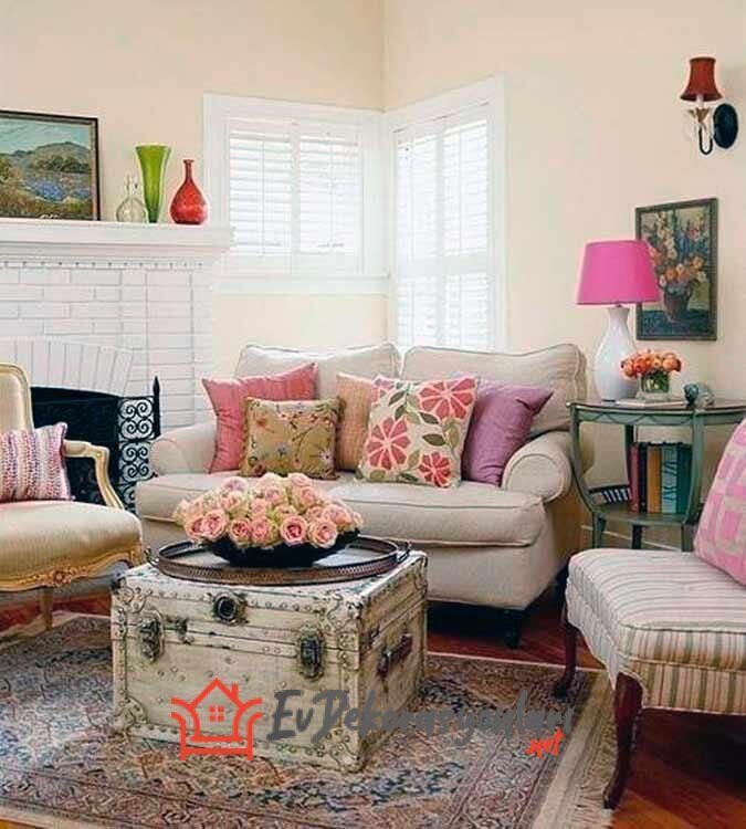 vintage ev dekorasyon fikirleri